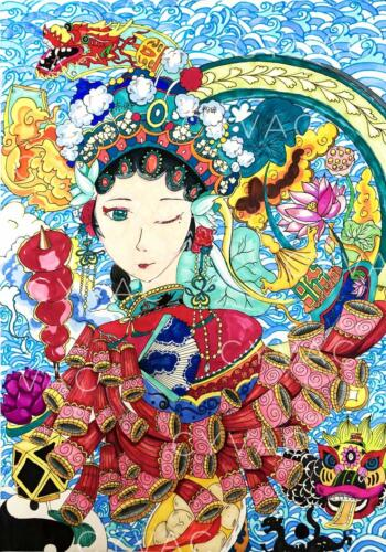 黄恬雨 Tianyu Huang – Age 11 – China – Available